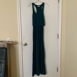 Turquoise maxi dress from lush